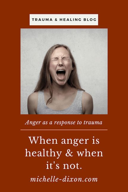 anger and trauma recovery