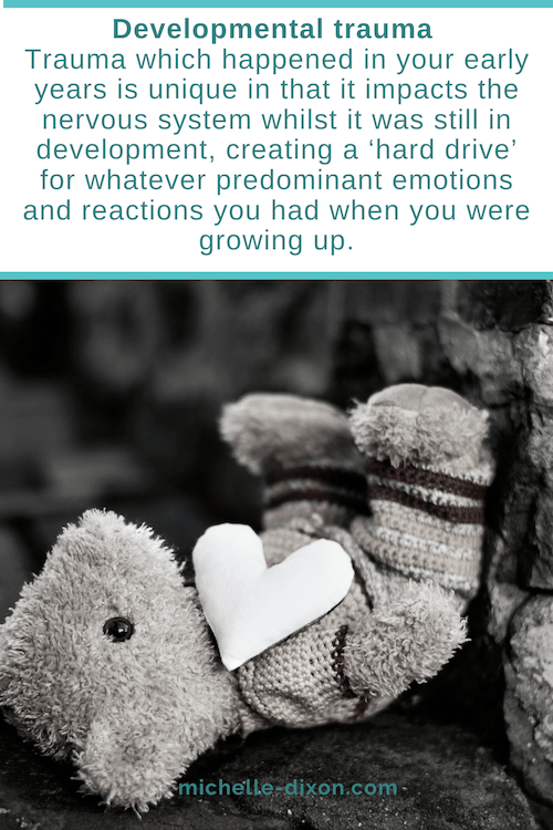 developmental trauma healing