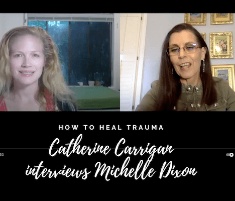 interview Catherine Carrigan trauma healing