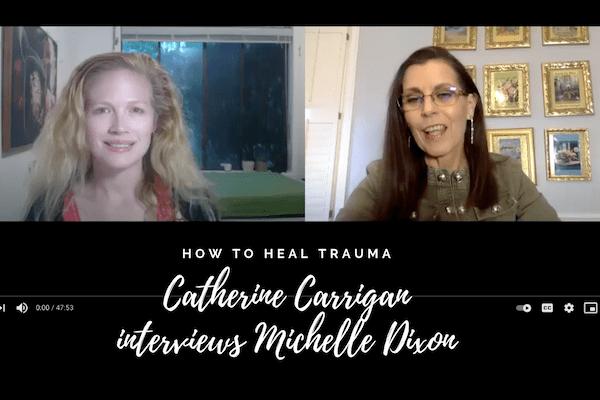 interview Catherine Carrigan trauma healing