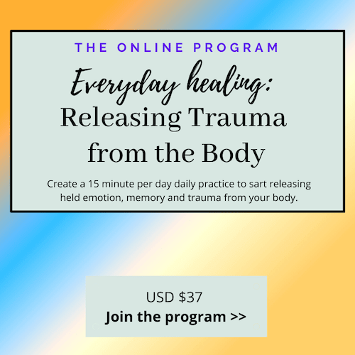 bodywork for trauma